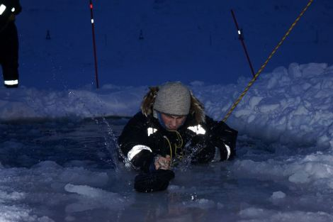 Cees Ola in Sea Ice